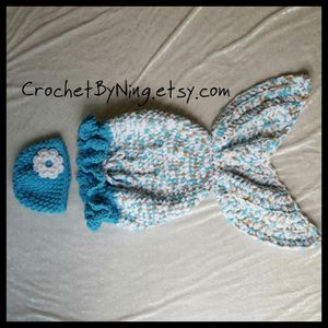 Crochet Mermaid tail Coccon for Sale in Charles Town, WV