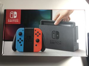 Brand new Nintendo switch for Sale in Marysville, WA