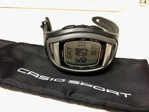 Casio Phys Heart Rate Monitor Watch CHF-100 with chest strap for Sale in Bronx, NY