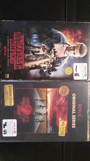 STRANGER THINGS Season One & Two Blu-Ray/DVD Target Collectors Editions Brand New for Sale in Kent, WA
