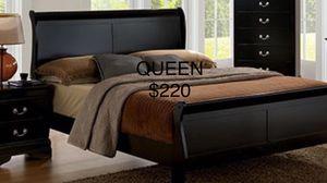 QUEEN SIZE / NUEVA EN SU CAJA / no incluye colchón/ QUEEN SIZE NEW IN BOX / only bed frame for Sale in Visalia, CA