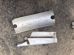 Rickman motorcycle parts we are finder and chain guard for Sale in Oak Lawn, IL