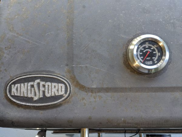 KingsFord BBQ grill, and smoker