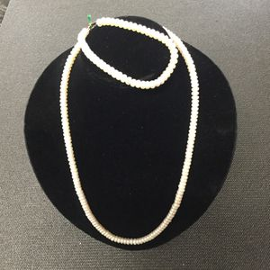 South Sea Button Pearl Set 18 Inch With Bracelet for Sale in Port St. Lucie, FL