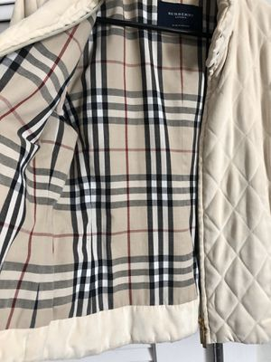 CYBER SALE! Burberry quilted jacket XS for Sale in Dunedin, FL