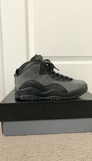 "Air Jordan 10 ""Shadow"" 9.5 for Sale in Seagoville, TX"