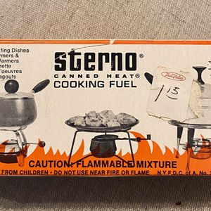 Vintage Sterno Canned Heat Cooking Fuel for Sale in McKinney, TX