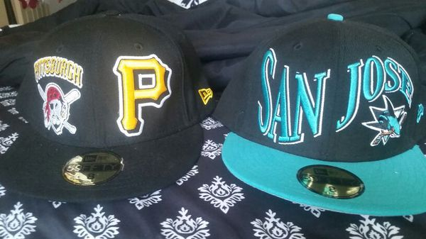 New fitted hats size 8