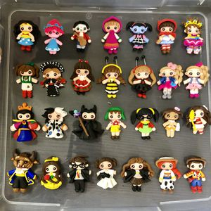 Clay dolls for bow centers, girl hair accessories, magnets, badge holders, keychains, charms, etc $4.00 ea for Sale in San Diego, CA