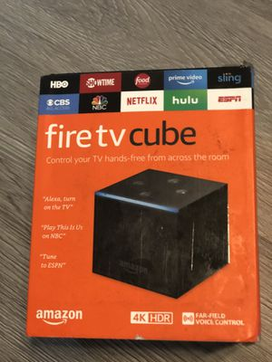 Amazon fire tv cube 4K New for Sale in New Smyrna Beach, FL