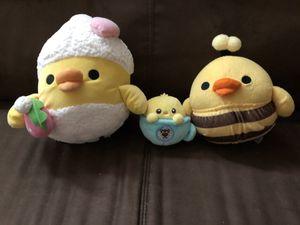 Super Cute Japanese Plushie Birds Set of 3 for Sale in Rosemead, CA