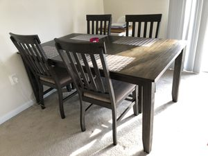 Dining table with 4 chairs for Sale in Rockville, MD