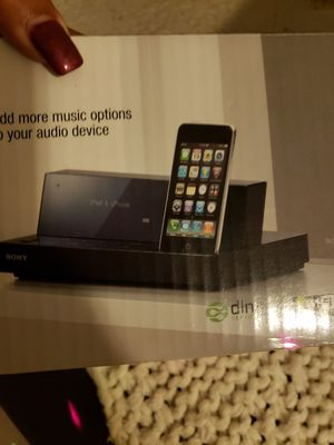 Sony iPhone bluetooth speaker for Sale in Homestead, FL