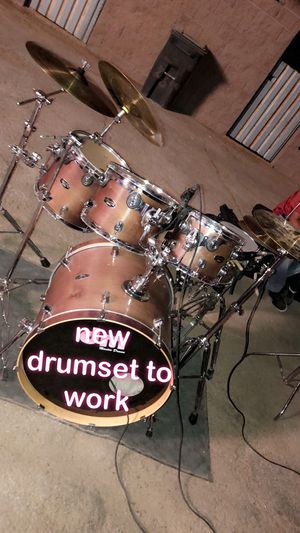 Pdp drum set 5 piece with hardware for Sale in North Las Vegas, NV