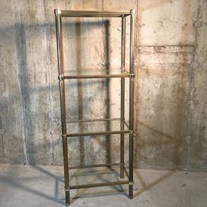 Brass & Glass Shelves for Sale in Concord, MA
