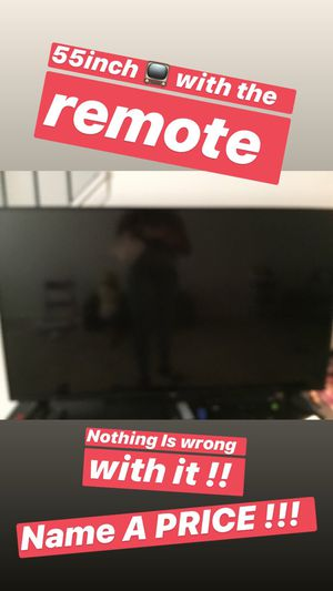 55 INCH TV for Sale in Baltimore, MD
