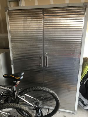 Large metal storage cabinet for Sale in Rio Rancho, NM
