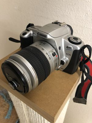 Canon EOS Rebel 2000 35mm Film SLR Camera Kit with 28-80mm Lens for Sale in Lynnwood, WA