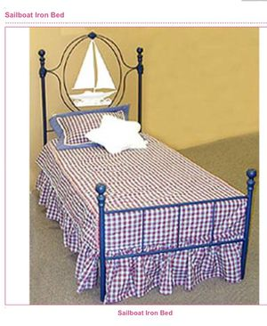 Beautiful Corsican Kids Sailboat Bed for Sale in Wood River, IL