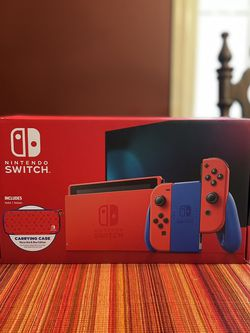 Nintendo Switch - Mario Red & Blue Edition - Brand New - In hand - Limited Edition for Sale in Springfield,  VA