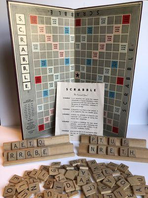 1953 Vintage Scrabble Board Game for Sale in Howell Township, NJ