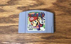 Mario Party 1 for Nintendo 64 video game console system n64 cartridge super bros brothers one for Sale in Cleveland, OH