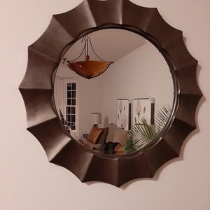 "Wall mirror 34"" round for Sale in Germantown, MD"