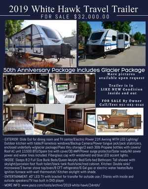2019 Jayco Travel Trailer for Sale in Temecula, CA