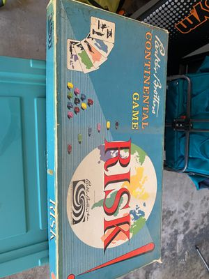 Vintage Risk Board Game for Sale in El Cajon, CA
