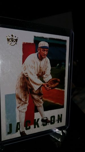 diamond Kings Joe Jackson no. JJ3 2019 panini Joe Jackson collection for Sale in New Albany, IN