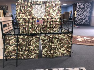 Camouflage tent bed for Sale in Fresno, CA