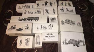 Lotta 15 the original snow village all excellent condition in original box for Sale in Rancho Cordova, CA