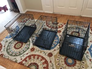 Dog crate $20 each or three for $50 for Sale in Herndon, VA