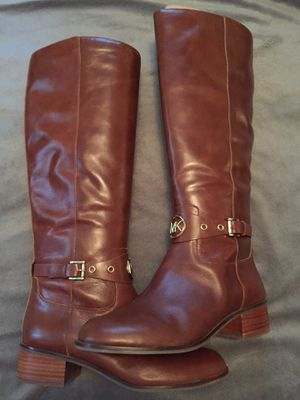 Michael Kors Heather Wide Calf Riding Boots - NEVER WORN for Sale in Monroeville, PA