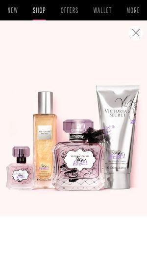 New Gift Victoria Secret VS Women's Cologne Tease Rebel for Sale in Rialto, CA