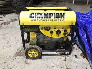Champion generator for Sale in Saint Martinville, LA