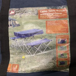 Portable Camping Table/Bench for Sale in Monrovia, CA