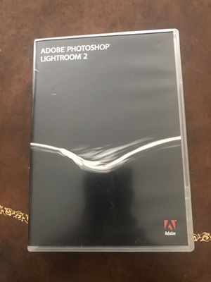 Adobe photoshop lightroom 2 & 3 for Sale in Chula Vista, CA