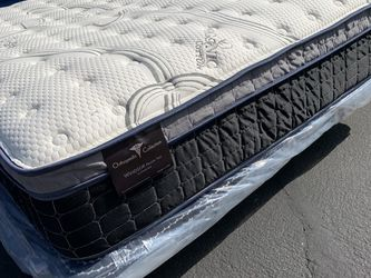 Full Size Imperial Plush Pillow Top Mattress! for Sale in Walnut,  CA