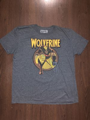 Marvel Wolverine T Shirt Adult XL for Sale in Tempe, AZ