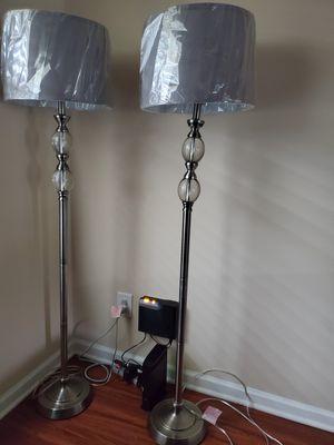 Floor lamps 150$ Both for Sale in Nashville, TN