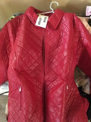 Brand New Woman's Leather Jacket for Sale in Oxon Hill, MD