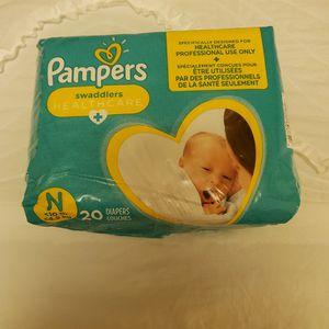 Newborn Pampers 20ct. for Sale in Chula Vista, CA