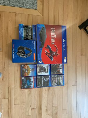 PS 4 with 7 games for Sale in Everett, WA