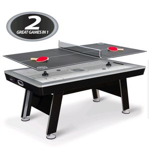 6ft 8in air hockey table with table tennis top. $300 FIRM for Sale in Redlands, CA