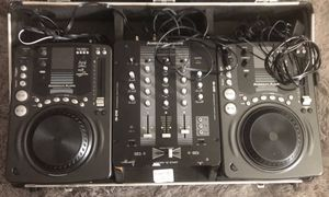 American Audio CDJ-300 with Mixer for Sale in Chicago, IL