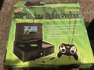 """Intec Xbox 7.2"""" game screen for Sale in Columbia, MD"""