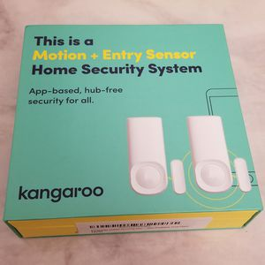 Kangaroo Home Smart WiFi Wireless Security and Surveillance System, Motion + Entry Sensor (2 Pack, App-Based, Wi-fi Enabled) for Sale in Santa Clara, CA