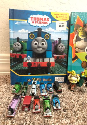 4 Busy Books, Thomas and Friends, Dreamworks All Stars, Paw Patrol, Bubble Guppies for Sale in Peoria, AZ