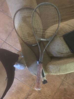 Tennis rackets $30 for Sale in Lake Elsinore, CA